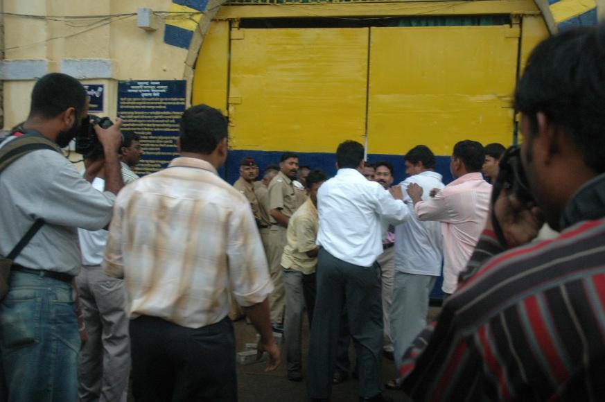 After Threatening cops dragging Vikram