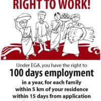 Worked under NREGA 6 months back, No payment yet