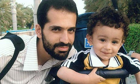 Mostafa Ahmadi Roshan, the Iranian nuclear scientist killed in Tehran on January 11, with his son, Alireza. Photograph: -/AFP/Getty Images