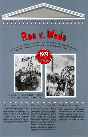 Roe vs wade 1973 summary
