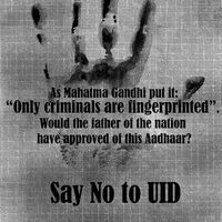 Why you should  question #UID #AAdhaar ? and get  answers #Saynotouid
