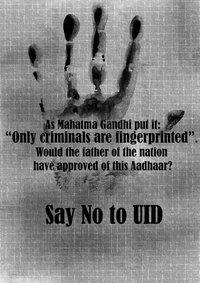 Uid- I am not a criminal