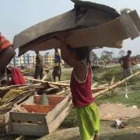 Appeal for Action- Forcible  Eviction in Nonadanga, Kolkata