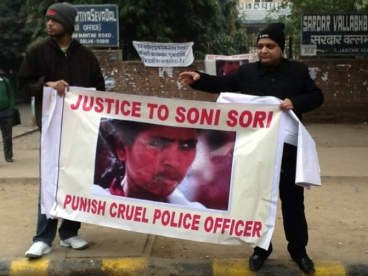 Indian State honours monster - Justice for  #SoniSori #Vaw