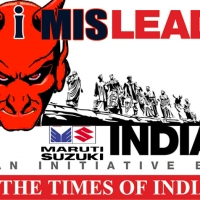 Times of India  #ILeadIndia #CSR  #PR campaign is actually #ImisleadIndia